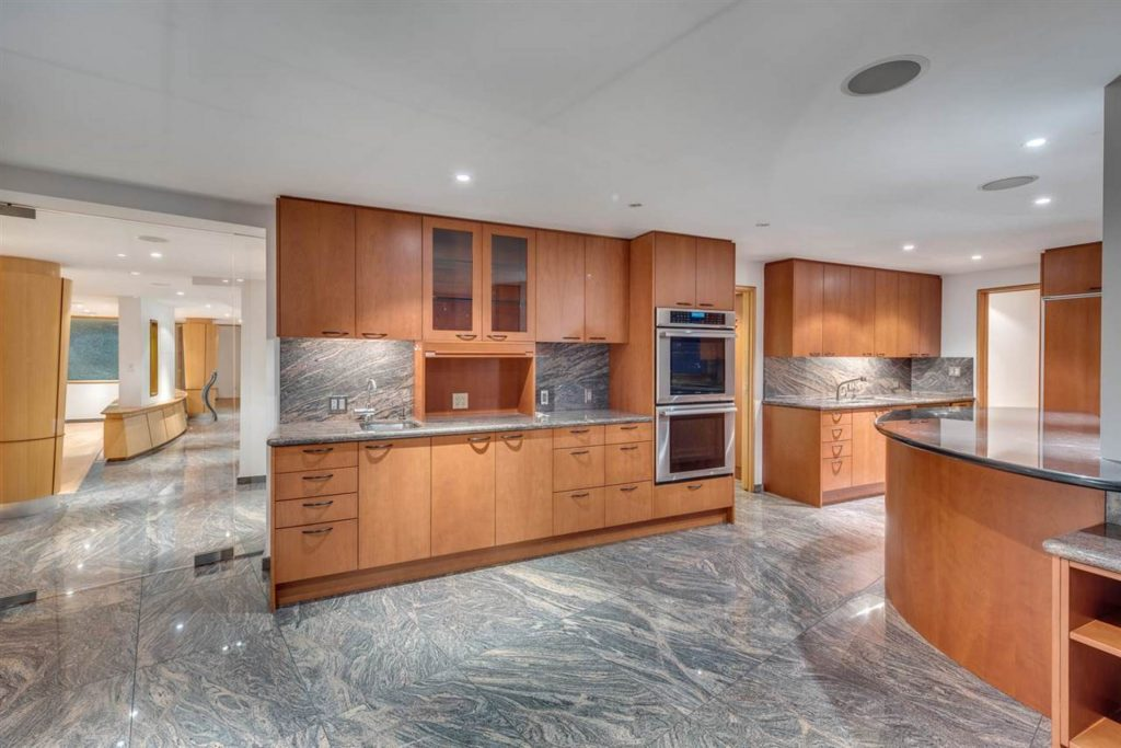 Beach Avenue Penthouse Kitchen