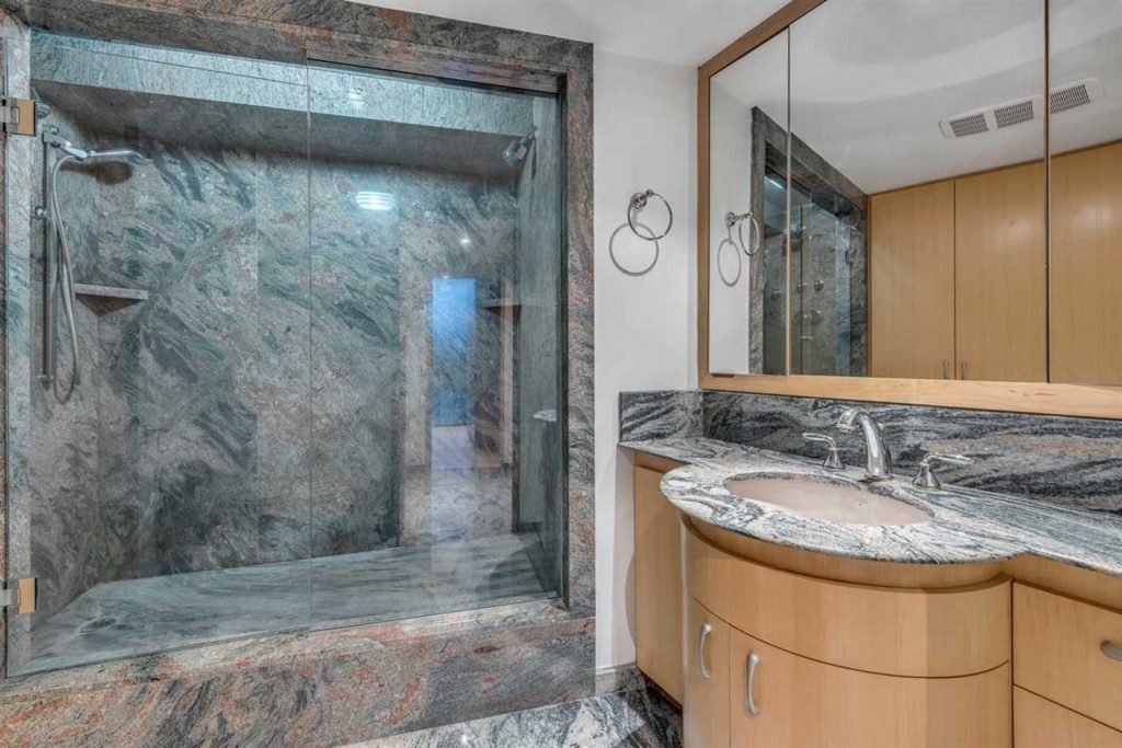 Beach Avenue Penthouse Bathroom