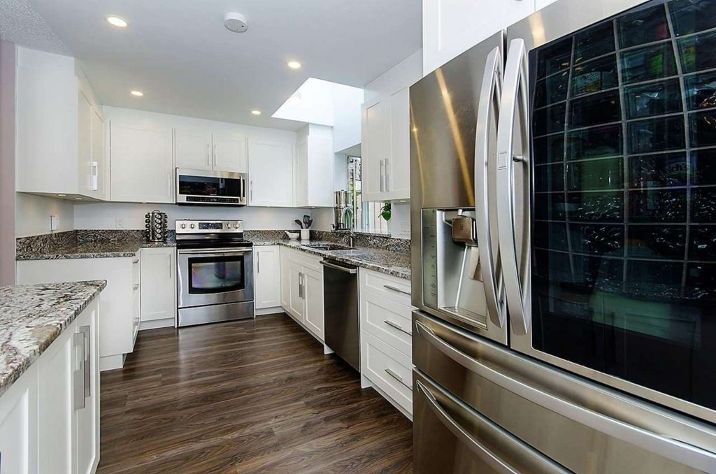 Central Lonsdale Townhome Kitchen