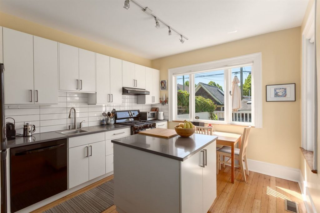 Strathcona Renovated Kitchen