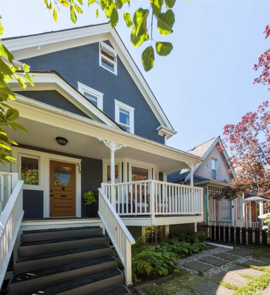 Strathcona Home Entrance