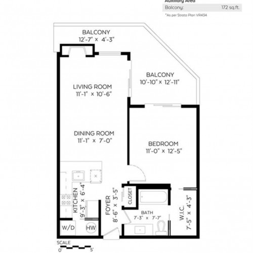 3e075836f3f654c139bf596704a611a72e50a5f6 at 106 - 1575 Balsam Street, Kitsilano, Vancouver West